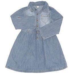 Rochie copii din material jeans (blugi) - TU