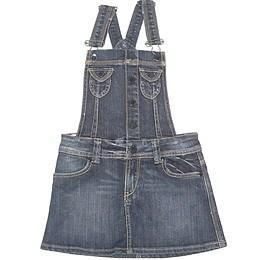 Rochie copii din material jeans (blugi) - Benetton