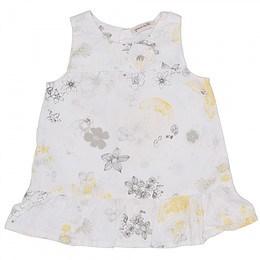 Rochie cu imprimeu floral pentru copii - Grain de blé