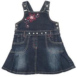 Rochie copii din material jeans (blugi) - St. Bernard