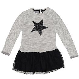 Rochie cu mânecă lungă pentru copii - MANGO KIDS