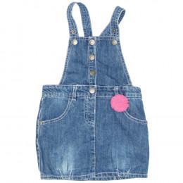 Rochie copii din material jeans (blugi) - Topomini