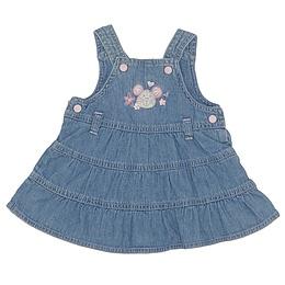 Rochie copii din material jeans (blugi) - Adams