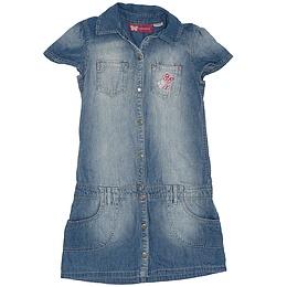 Rochie copii din material jeans (blugi) - Lady Bird