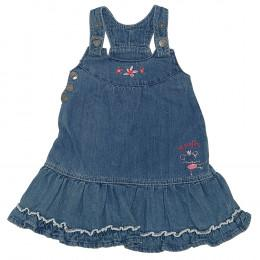 Rochie copii din material jeans (blugi) - Impidimpi