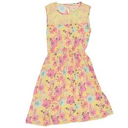 Rochie cu imprimeu floral pentru copii - Nutmeg