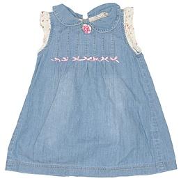 Rochie copii din material jeans (blugi) - Zara