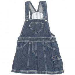 Rochie copii din material jeans (blugi) - Lupilu