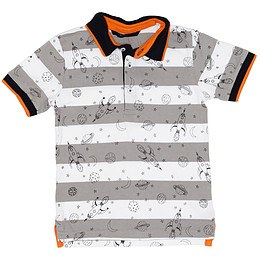 Tricou cu guler pentru copii - George
