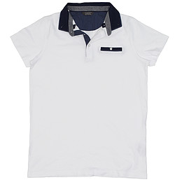 Tricou cu guler pentru copii - Primark essentials