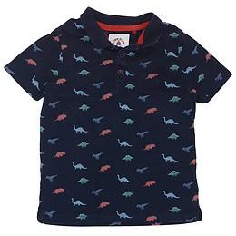 Tricou cu guler pentru copii - TU