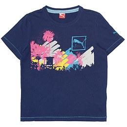 Tricou cu imprimeu pentru copii - Puma
