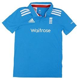 Tricou cu guler pentru copii - Adidas