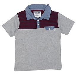 Tricou cu guler pentru copii - Sonneti