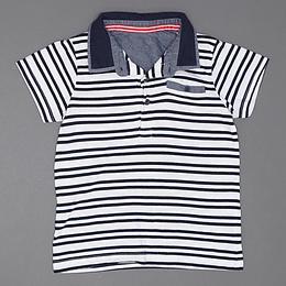 Tricou cu guler pentru copii - Marks&Spencer