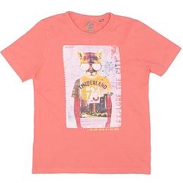 Tricou cu imprimeu pentru copii - Timberland