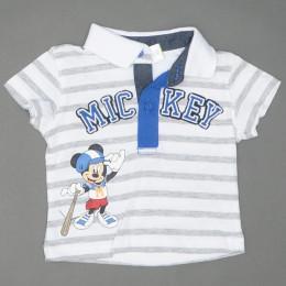 Tricou cu guler pentru copii -