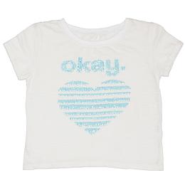 Tricou cu imprimeu pentru copii - Okay