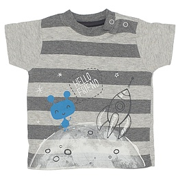 Tricou cu dungi pentru copii - Nutmeg
