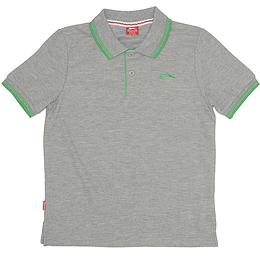Tricou cu guler pentru copii - Slazenger