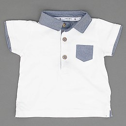 Tricou cu guler pentru copii - Debenhams