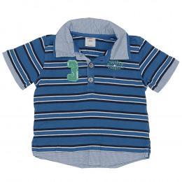 Tricou cu guler pentru copii - S'Oliver