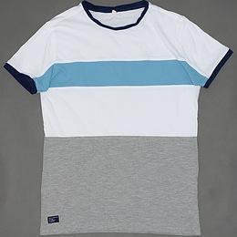 Tricou din bumbac cu dungi - Marks&Spencer