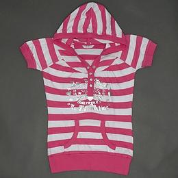Tricou din bumbac cu dungi - Miss Evie
