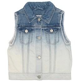 Vestă copii din material jeans (blugi) - GAP