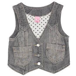 Vestă copii din material jeans (blugi) - Adams