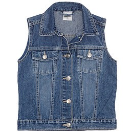 Vestă copii din material jeans (blugi) - Alive