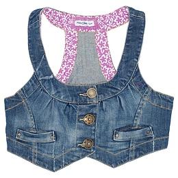 Vestă copii din material jeans (blugi) - Mayoral