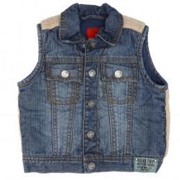 Vestă copii din material jeans (blugi) - ESPRIT