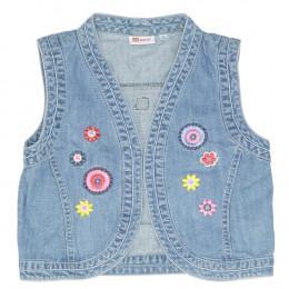Vestă copii din material jeans (blugi) -