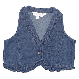 Vestă copii din material jeans (blugi) - Girl2Girl
