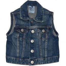 Vestă copii din material jeans (blugi) - H&M