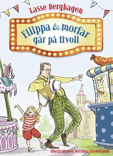 Filippa och morfar går på tivoli