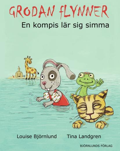 Grodan Flynner : en kompis lär sig simma