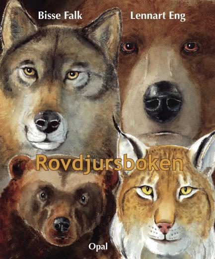 Rovdjursboken : de fyra stora
