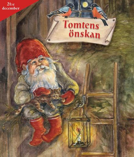 Tomtens adventskalender 21 december