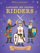 Aankleden met stickers Ridders