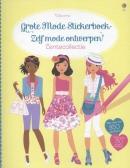 GROTE MODE STICKERBOEK - ZELF MODE ONTWERPEN