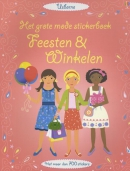 GROTE MODE STICKERBOEK - FEESTEN EN WINKELEN
