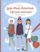 Grote mode stickerboek - zelf mode ontwerpen wintercollectie