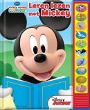 Disney Micky Mouse Leren Lezen geluidenboek