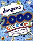 2000 stickers voor jongens