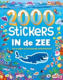 2000 stickers In de zee