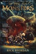 De zee van monsters graphic novel