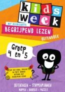 Kidsweek Het allerleukste begrijpend lezen oefenboek - Kidsweek in de klas groep 4 & 5