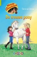 Manege de Zonnehoeve. De trouwe pony